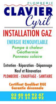 Artisan plombier -Clavier- Cyril-Saint Michef-44770