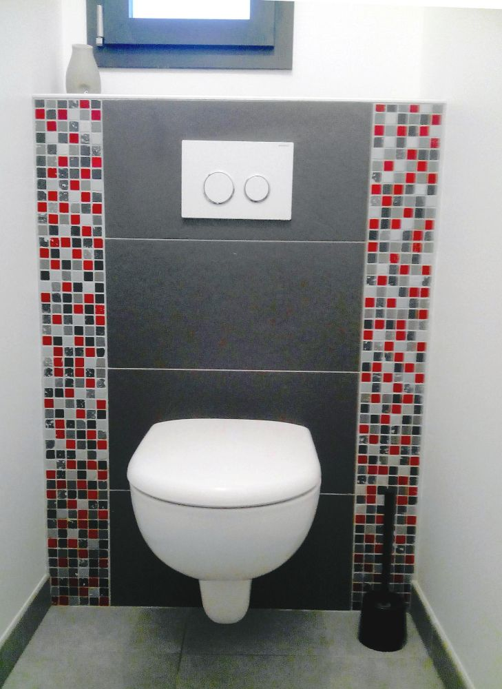 Carrelage toilette suspendu les derni res - Wc suspendu carrelage ...